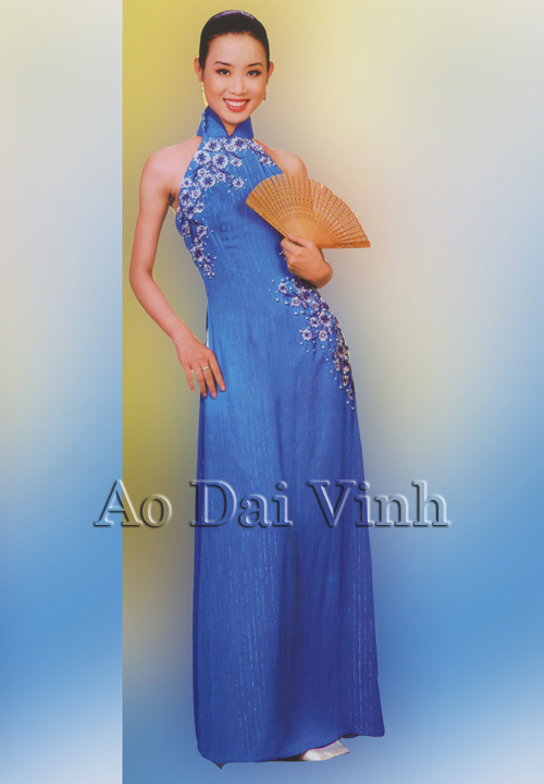 Blue Wedding Ao Dai Modern Ao Dai :: Blue ...