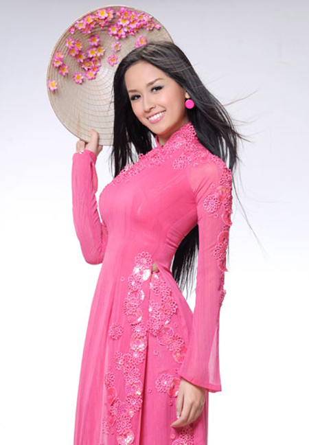 how to measure ao dai male models picture