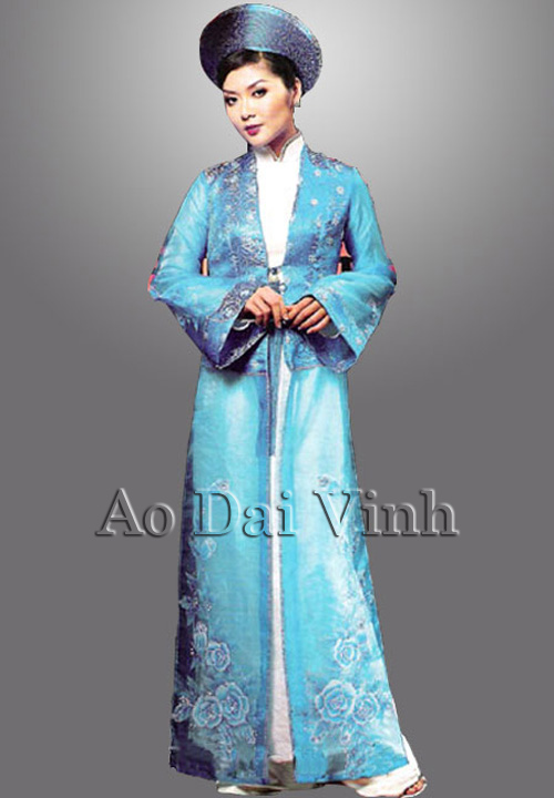 Blue Wedding Ao Dai Blue Wedding Ao Dai Re...