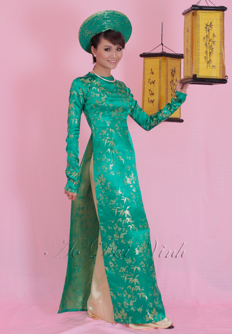 Blue Wedding Ao Dai Blue Wedding Ao Dai WB057