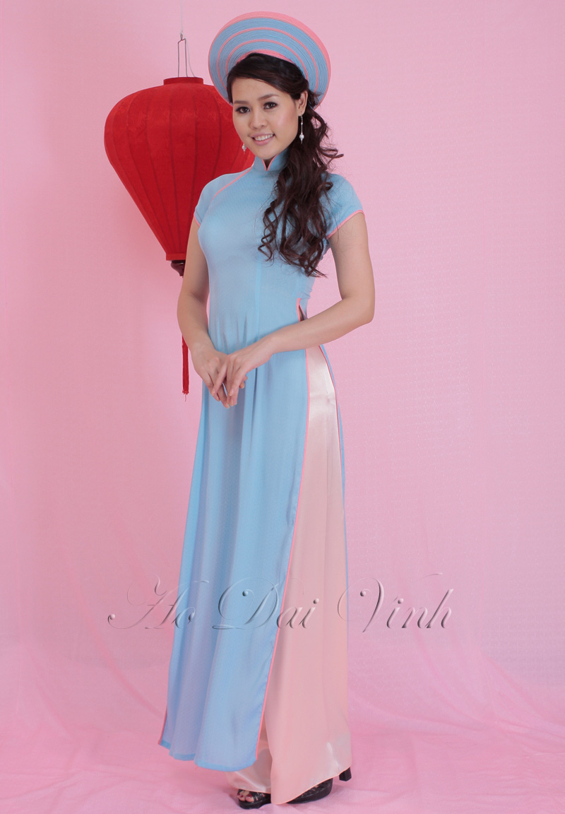 Blue Wedding Ao Dai Wedding Ao Dai :: Blue...