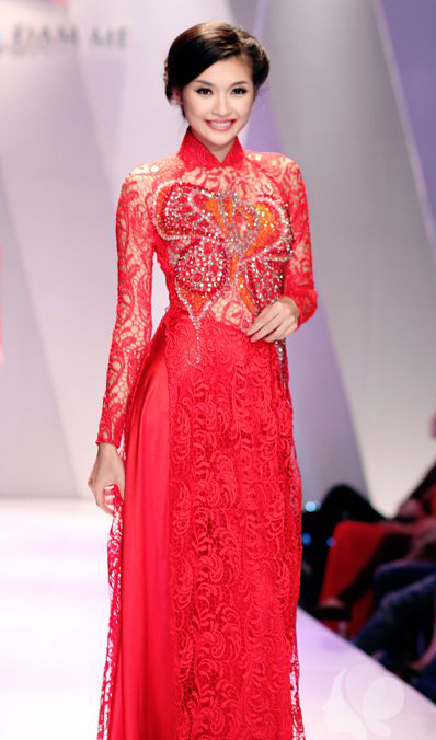 Blue Wedding Ao Dai Red Wedding Ao Dai WR2...