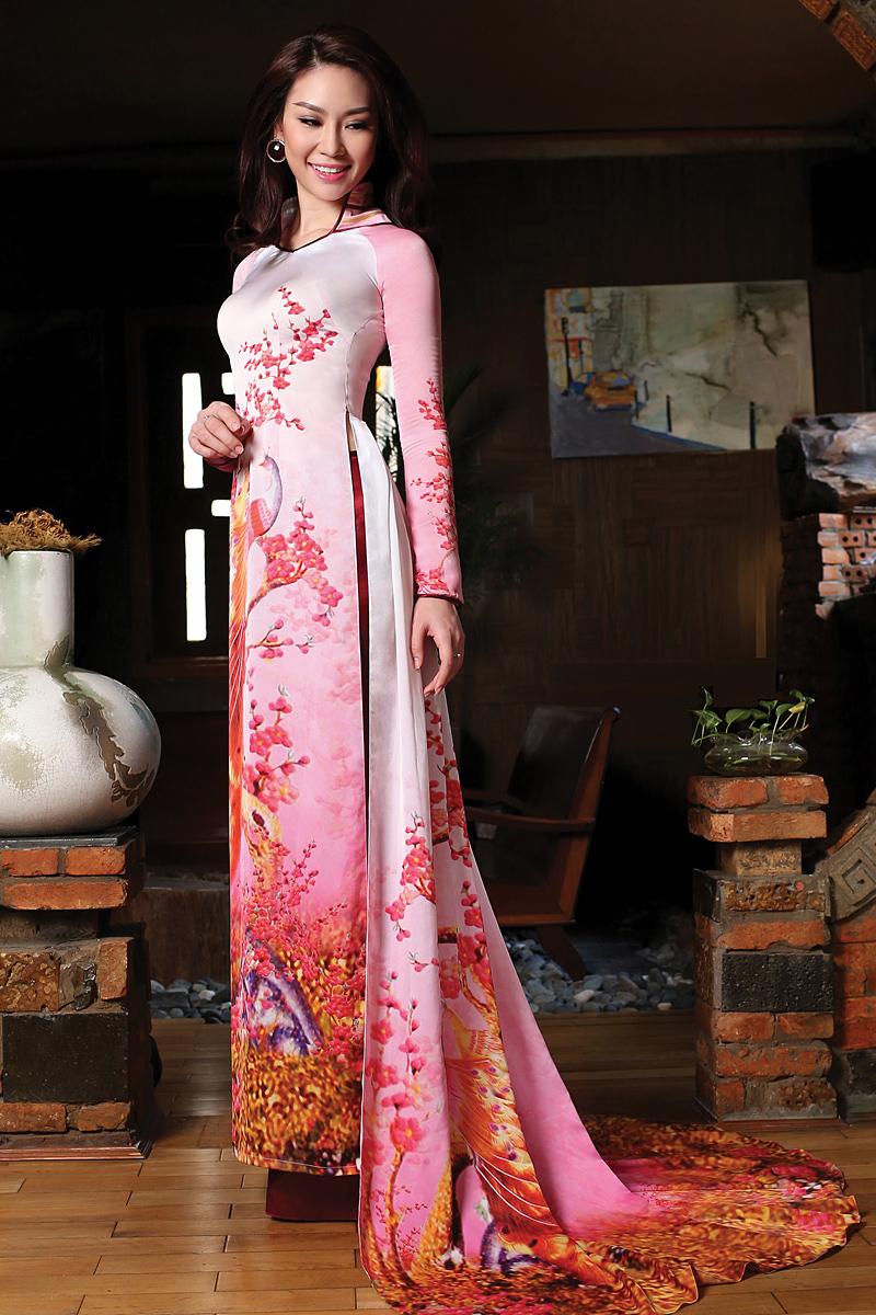 Ao Dai Thai Tuan Ao Dai Thai Tuan Fabric Vt320 Ao Dai
