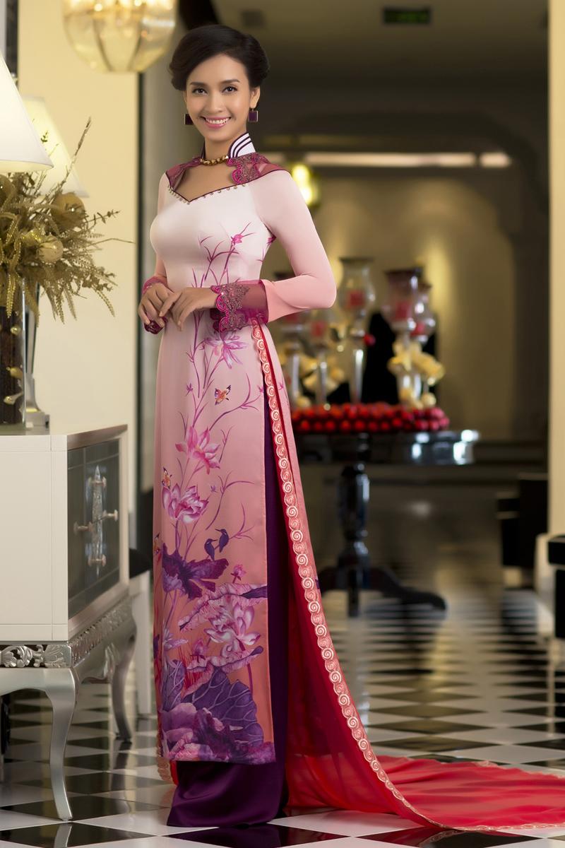 Ao Dai Thai Tuan Ao Dai Thai Tuan Fabric Vt348 Ao Dai